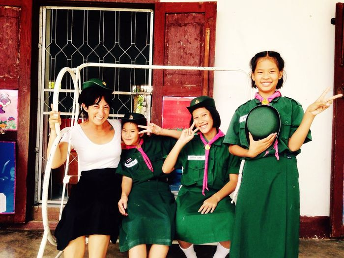EyeEmNewHere Thailand Smiling Happiness Women Friendship Cheerful Togetherness