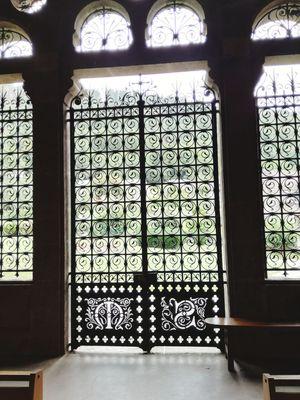 Window Indoors  Ornate Day No People Architecture Luxury Chapel Spirituality Religion Façade Monoliths Outdoors Indoors  Architecture Sculpture Arch