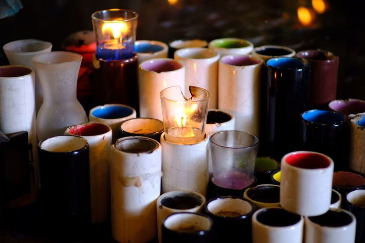 EyeEm Selects Flame Multi Colored Candle Close-up Bonfire Burning Candlelight Fire Pit Tea Light Fire - Natural Phenomenon Candlestick Holder Firewood Diya - Oil Lamp Fire Darkroom Campfire Oil Lamp Matchstick Wax Ice Cube Served Heat Various Lit Prepared Food