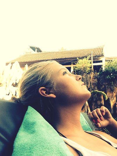 hello lovina Enjoying The Sun