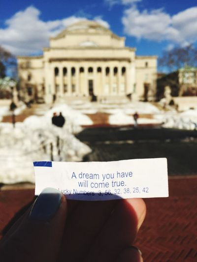 My Student Life Campus Life Class Of 2016 Fortune Cookie