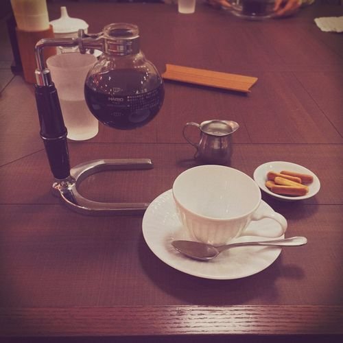 Cafe 倉式珈琲ブレンド。Kurashiki coffee blend.