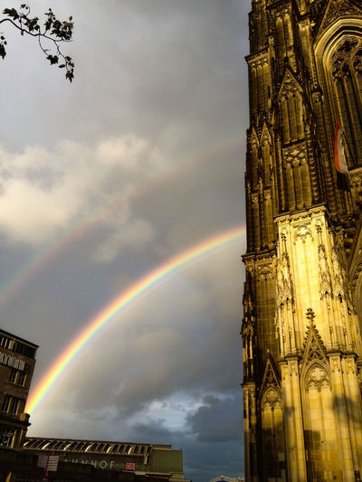 Rainbow, Cathedral, Cologne, Germany The Architect - 2017 EyeEm Awards Colour Your Horizn