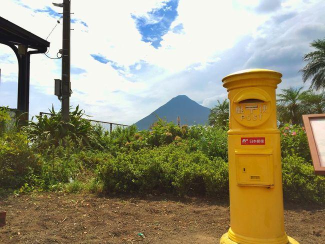 Japan Kagoshima ShotOniPhone6 IPhon6で撮影 開聞岳