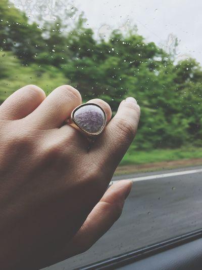 Rainy day Rain Ring