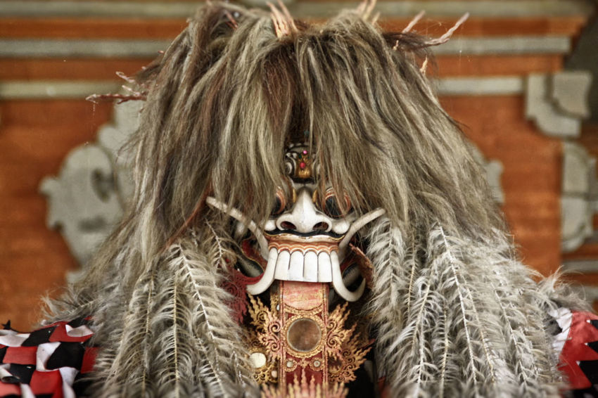 Animal Representation Art Art And Craft Bali Culture Barong Dance Mask Close-up Creativity Cultures Decoration EyeEm Gallery Figure Figurine  Focus On Foreground Headshot Human Representation Mask Obscured Face Ornate Religion Spirituality Tari Barong Tradition Tradition Traditional Dance Barong Dance