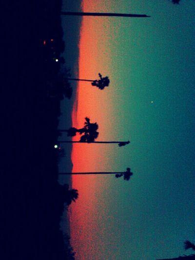 ยามเย็น ที่เมืองนนทบุรี :)