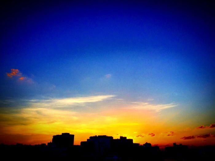 2015.10.14 沖縄 の 夕陽 自然 那覇 Iphone6 Okinawa Natural Naha Sunset