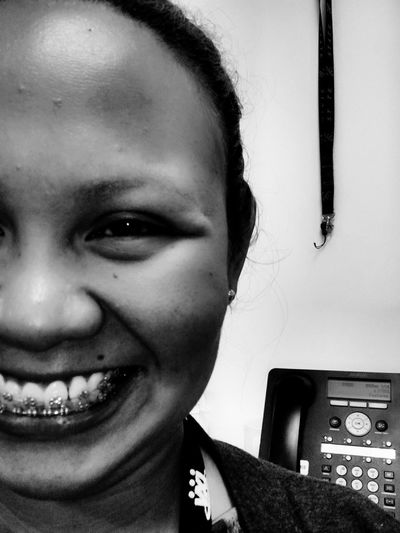 Z-ness Smile ✌ Happy Work Blackandwhite