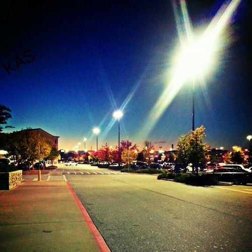 Streetlights Fall Colors GA Beautyallaroundus Openyoureyes