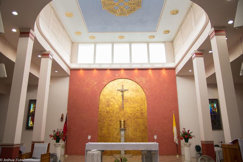 Trinidad And Tobago Caribbean Church Holycross Holy