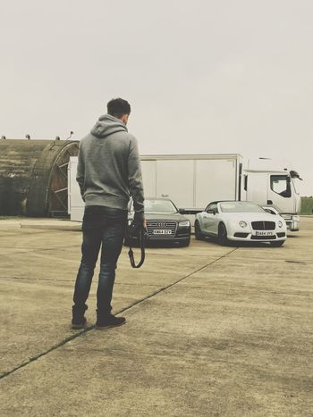 Checking Them Out Nikon Iphone6 Photoshoot Bentley Supercar Audi Today's Hot Look Superdry Hoody Pose