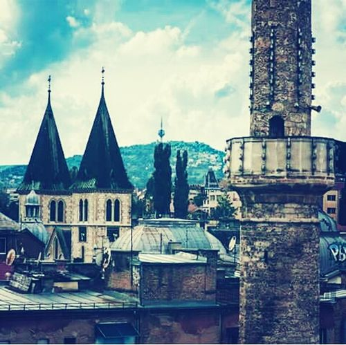 Begova Džamija Mosque Katedrala Catedral #Sarajevo