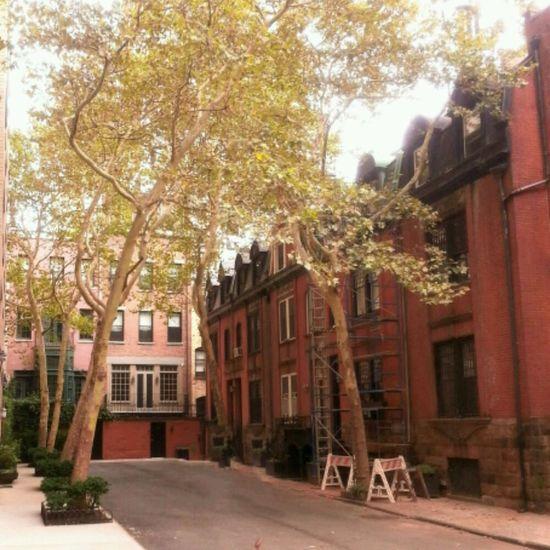 Upper East Side Manhattan  Architecture Housing Brick Houses