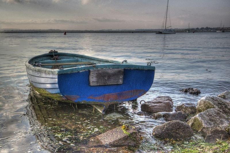 Boat HDR Wells-next-the-Sea Norfolk EyeEm Best Edits Eye4photography  Hdr_Collection Hdrphotography Landscapes With WhiteWall The KIOMI Collection The Great Outdoors With Adobe The Great Outdoors - 2016 EyeEm Awards Fine Art Photography