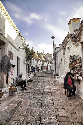 Alberobello Architecture Folklore Pugliese Lovely Palces Nice Town Puglia South Italy Trulli Village Villages
