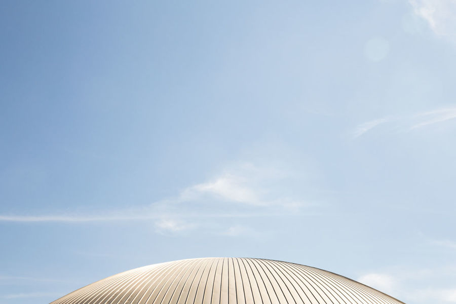 shiny dome // Architectural Detail Architecture Bright Built Structure Day Dome Part Of Shiny Sky