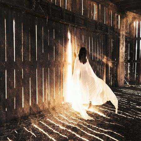 EyeEm Best Shots Barn Girl Sprit Light Lightrays Conceptual Photography  Showcase: January