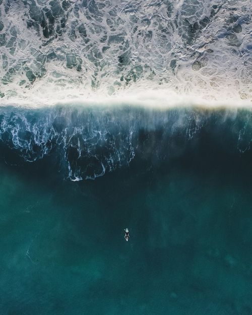 Dji Phantom 4 Drone  Aerial Photography Aerial Shot Surf Beach Sea Waves Nature Summer Color Palette A Bird's Eye View People And Places TCPM