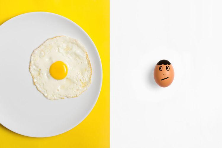 Fried egg on