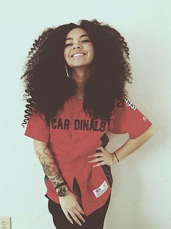 Curly Hair Alot Of Hair Street Fashion Fashion