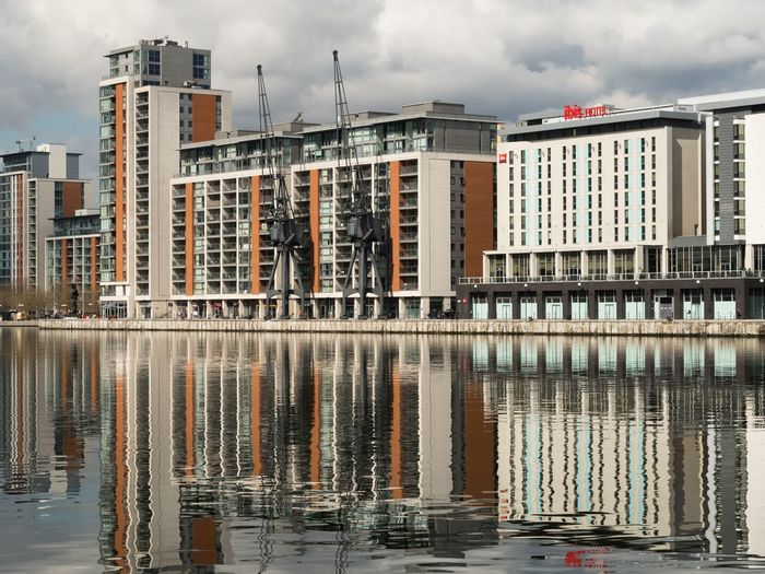 Something to reflect on Water Waterfront Water Reflections Reflection_collection Reflections LONDON❤ London