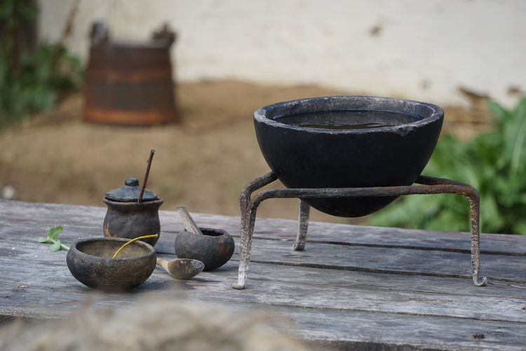 still life Still Life Pottery Pottery Art Ancient Civilization Viking EyeEm Selects Wood - Material Table Close-up Food And Drink Oil Lamp Bucket Earthenware Pot Clay Terracotta Molding A Shape The Street Photographer - 2019 EyeEm Awards