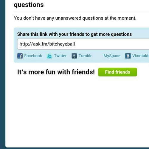 Ask Me Some Questions...anything...ill Answer It Truthfully