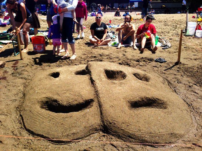 Alameda 49th Annual Sandcastle Contest Sandcastles Beach