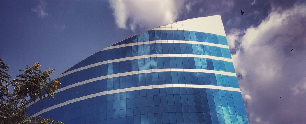 Architecture Built Structure Blue Modern Sky Outdoors