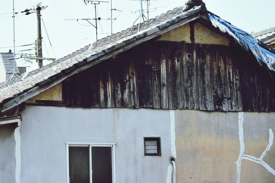 生きる 日常 Life Live Street Photography Old House Nostalgie