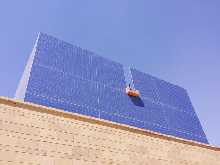 Cobalt Blue By Motorola Blue Sky Blue Building AUC Cairo Egypt The Places I've Been Today