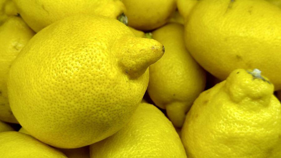 Lemonide... #LemonInTheMarket #HealthyFruit #fruit #FreshLemon Fruit Freshness Citrus Fruit Food And Drink Food Healthy Eating Lemon No People Yellow Close-up Indoors  Day Sour Taste