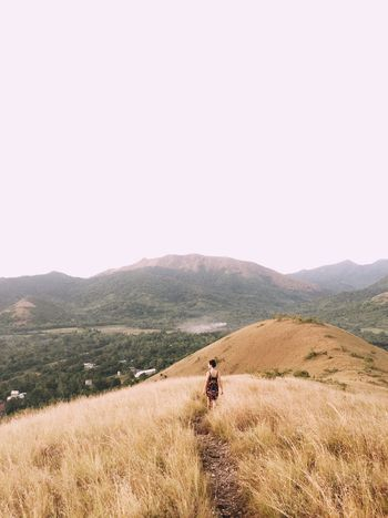 Philippines Mount Tapyas Landscape Beauty In Nature Travel Photography Tourist Coron, Palawan Leisure Activity The Philippines Palawan Hiking Traveler Sunset Hike Hills And Valleys Lost In The Landscape