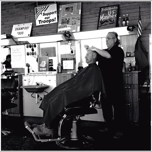 IPhoneography Mobilephotography Gallupnm Gallup Barbershop Blackandwhite OpenEdit Streetphoto_bw Streetphotography