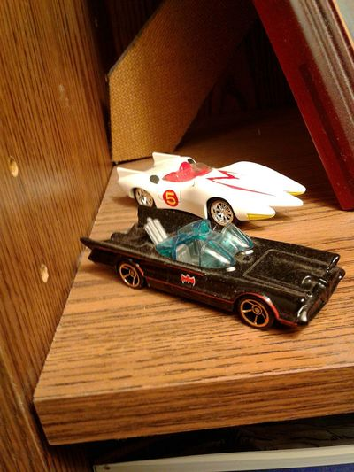 Close-up Toys In The Attic Bat Mobile Toy Photography Toys Collection Collectables