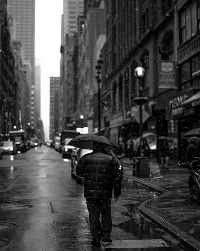 Winter in NY Street Real People Architecture Umbrella Umbrellas Street Photography Streetphoto_bw Createcommune Createexploretakeover Moodygrams NYC NYC Photography NYC Street Photography NYC Street Nycprimeshot Moody CreateExplore EyeEmNewHere The Street Photographer - 2017 EyeEm Awards Neighborhood Map The Week On EyeEm