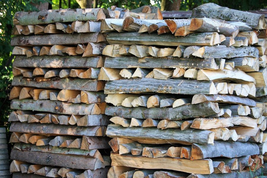 stack fire wood Brennholz Brennholz Stapel Fire Wood Firewood Forestry Industry Lumber Industry Stack Timber Wood Wood - Material Wooden Woodpile