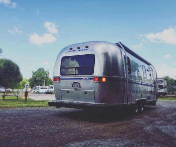 Airstream Airstream America Trailer Memphis Tennessee Graceland