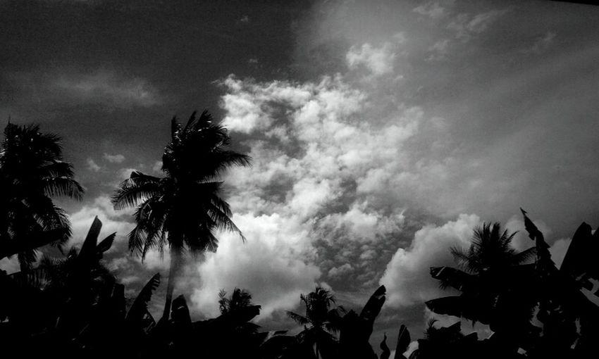 Clouds Blackandwhite