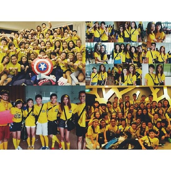 Late post because I'm saving the best for last hehe. So glad to be part of the Avengers family, really. Thank you for making me feel like as if I belonged to something even though it was only for 4 days. Grateful to have made more new friends throughout this camp and being able to bond and be closer to everyone in this tribe is truly something that I'm thankful for. Miss screaming cheers and waking up next to my roomies and having h2h talks naw basically I miss y'all so much already. SO MUCH LOVE FOR ALL OF YOU YELLOW BANANAS ❤ // Avengerslove AvengersAssemble Csop Postcampdepression exclusiveclique (HAHAHAHA) currychickenrice