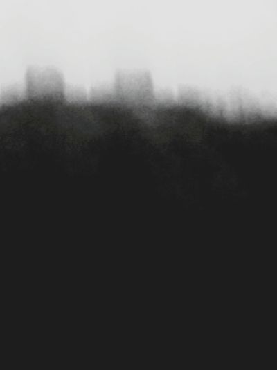 B&W Abstract of a wicked soul