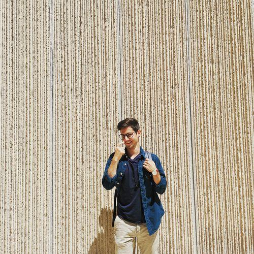 Campus wall
