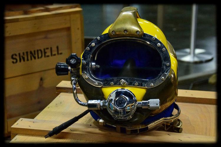 Scuba gear displayed at Washington's Naval Undersea Museum Scubagear