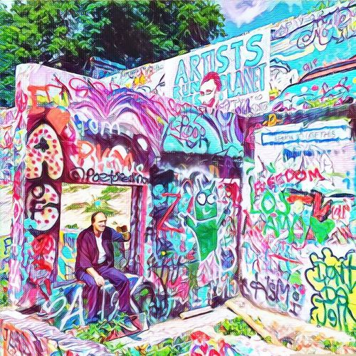 Art Creativity Art And Craft Graffiti Multi Colored Human Representation Outdoors Day Colorful Architecture And Art Green Color No People ArtWork