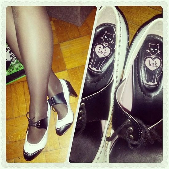 Love my new free shoes <3 Tuk Brogues котизм
