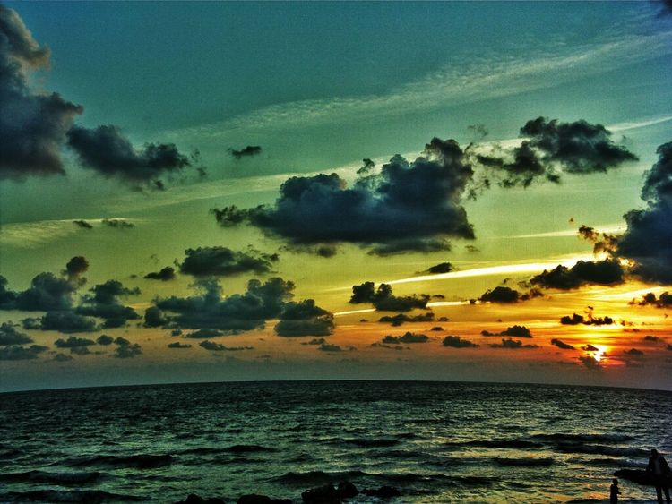 Sea Sunset Clouds And Sky Syria  Mediterranean  Nature_collection Eye4photography  Latakia