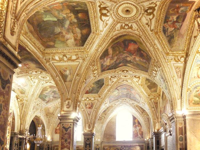 2011 Amalfi  Arch Architecture Architecture And Art Cattedrale Cattedrale Di Sant Andrea Church Duomo Di Amalfi Fresco Gold Indoors  Italy Religion アマルフィー アマルフィ大聖堂 イタリア ドゥオーモ 大聖堂