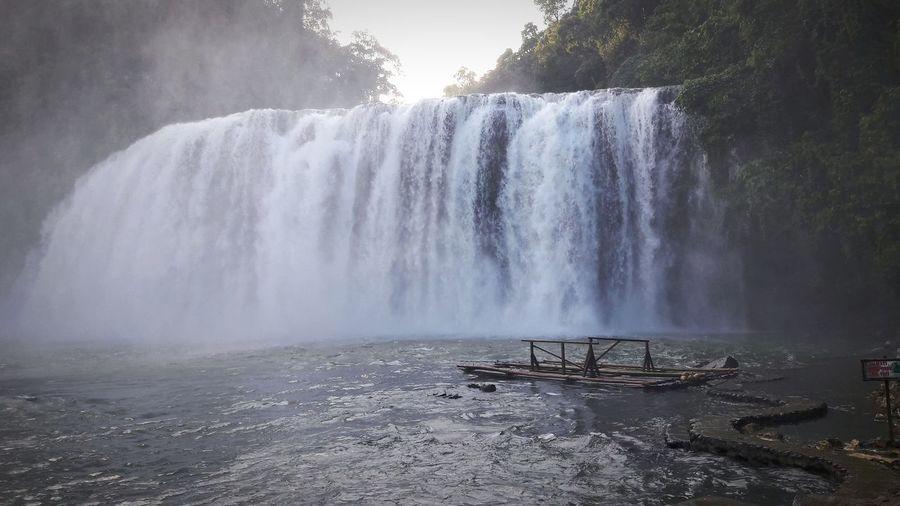 Water Waterfall Tree Motion Long Exposure Sky Flowing Flowing Water Falling Water
