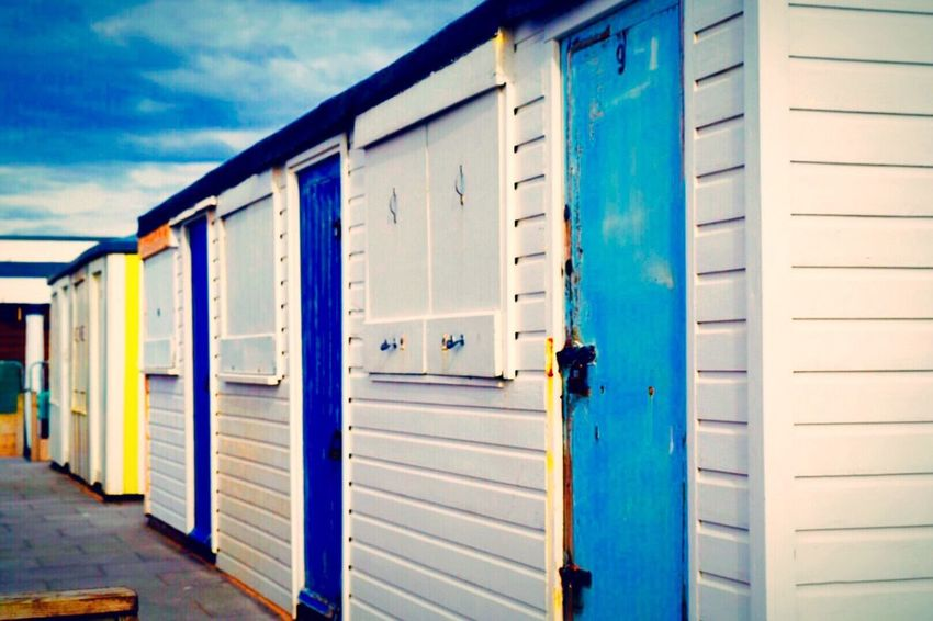 Beach Huts Beach Cabins No People Beachfront Seafront Seafront Houses Seaside Huts Shabby Chic Seascape Photography Seaside_collection Seaside Living Seaside Exploring Outdoor Photography Outdoors Season